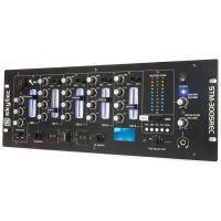 2e keus - SkyTec STM-3005REC 4-Kanaals Mixer EQ USB/MP3 Record