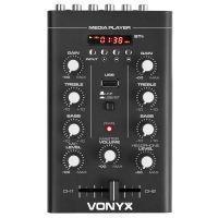 2e keus - Vonyx STM500BT 2-kanaals mixer met Bluetooth en mp3 speler