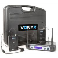 2e keus - Vonyx WM512H Draadloze microfoon VHF - Dubbel