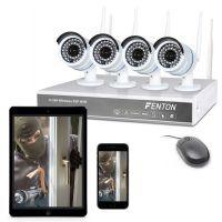 2e keus - Fenton draadloos camera systeem met 4 camera's en recorder