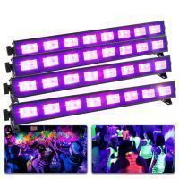 BeamZ Complete Blacklight set met 4 krachtige BUV93 LED BARs