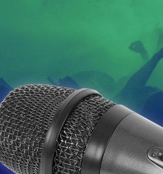 Microfoons voor zang